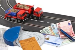 1000-Punkte-Regel- Das Beförderungspapier muss auch bei diesen Transporten vorliegen.