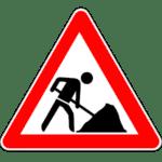 Verkehrszeichen 123: Baustelle