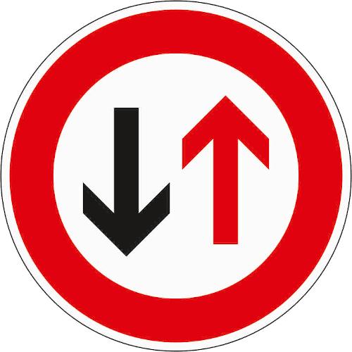 Verkehrszeichen 208