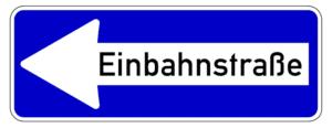Verkehrszeichen 220: Einbahnstraße