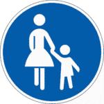 Zeichen 239: Fußgänger
