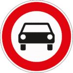 Zeichen 251: Verbot für Kfz