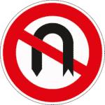 Zeichen 272: Wenden verboten