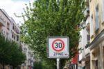In der 30-Zone geblitzt