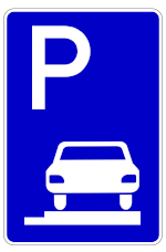 Verkehrszeichen 315