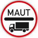 Zeichen 390: Mautpflicht für Lkw