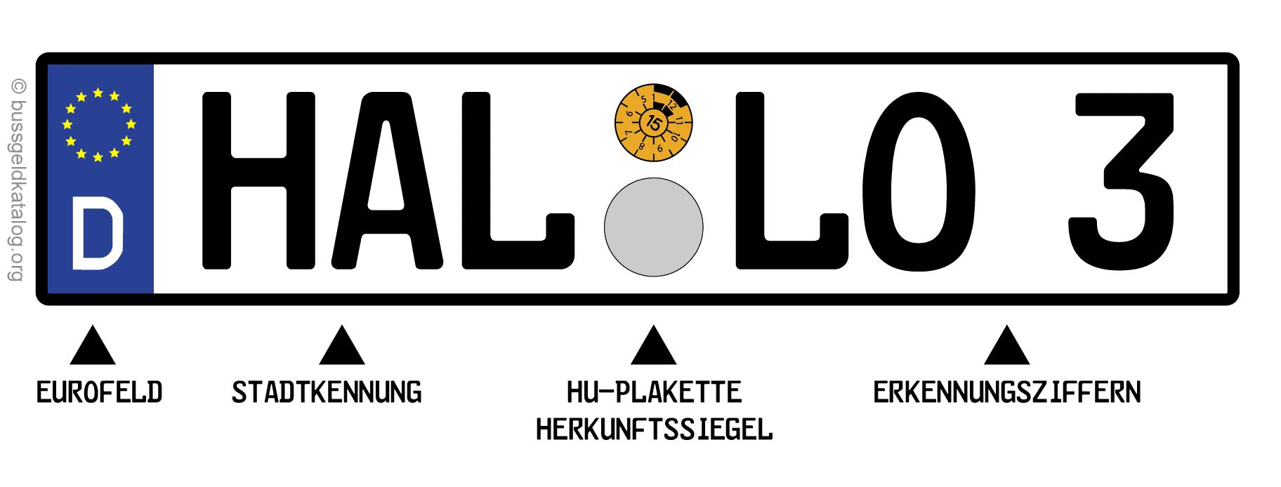 autokennzeichen vr deutschland