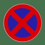 Gegen ein absolutes Halteverbot verstoßen: Die Strafe erhöht sich bei Behinderung anderer.
