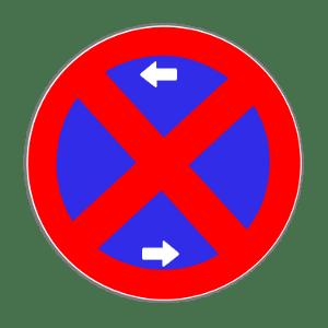 Bitte weiterfahren: Hier gilt ein absolutes Halte- und Parkverbot.