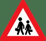 Verkehrszeichen in Dänemark: Achtung! Kinder