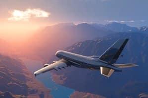 """""""Natürlicher und anthropogener Klimawandel: Flugzeuge schaden der Atmosphäre besonders."""
