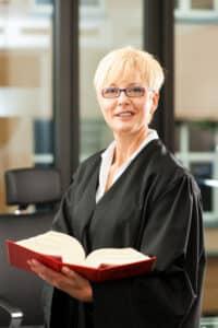 Eine Anwältin für Verkehrsrecht