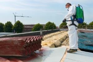 Die Asbestbeseitigung sollte in der Regel einem Fachmann überlassen werden.
