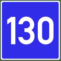 Außerorts, auf Autobahnen oder autobahnähnlichen Straßen, gilt die Richtgeschwindigkeit.