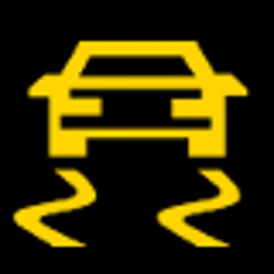 Ob Ihr Auto über ein ESP verfügt, zeigt diese Kontrollleuchte.