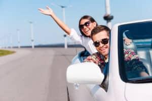 Auto privat verkaufen - was beachten? Gewähren Sie dem Interessenten eine Probefahrt.