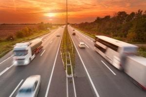 Autobahn: In Griechenland ist die Geschwindigkeit hier gesetzlich festgelegt.