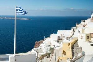 Eine Autobahnmaut fällt in Griechenland nur auf einigen Strecken an.