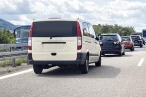 Auf Grund ihrer Größe werden häufig Transporter als Behindertenfahrzeuge genutzt.