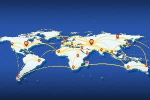 Eine Pandemie beschreibt eine globalen Ausbruch einer Krankheit.