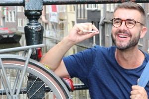 Bekifft mit dem Fahrrad fahren: In Deutschland ist dies nicht erlaubt!
