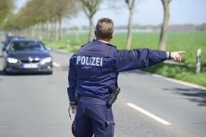 Darf die Polizei eine Beschlagnahme vom Führerschein durchführen?