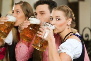 Die Anmietung eines Bierbikes für eine Party ist weiterhin möglich.