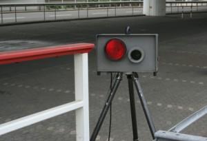 Laser & Blitzer: Die Geschwindigkeitskontrolle findet mit zahlreichen Messgeräten statt.