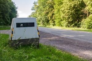 Neuartiger Blitzer: In Mannheim wird der Anhänger zur Geschwindigkeitsüberwachung genutzt.