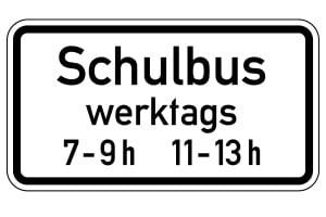 Die BOKraft beinhaltet auch Ausnahmen. Der Verkehr mit Schulbussen gehört zu diesen.