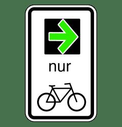 Der Bundesrat beschließt die StVO-Novelle und führt damit einen Grünpfeil für Radfahrer ein.