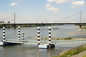 Die Bundeswasserstraßen in Deutschland befinden sich im Eigentum des Bundes.