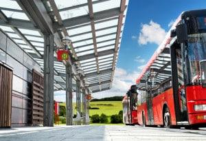 Busfahrer benötigen einen DE-Führerschein, wenn sie Anhänger mit mehr als 750kg fahren wollen.