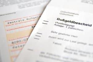 Beim Bußgeld kann eine Regelsatzerhöhung wegen einer Voreintragung erfolgen.