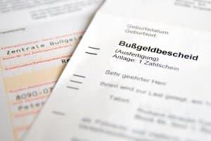 Bußgelder können in Europa teilweise grenzüberschreitend vollstreckt werden.