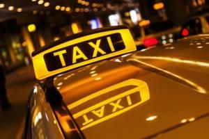 Taxifahrer auf dem Oktoberfest