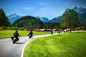 Auch für Motoräder können Bußgelder anfallen.
