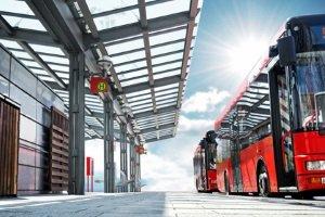 Verstöße gegen die Verkehrsregeln werden gemäß dem Bußgeldkatalog für den Bus geahndet.