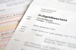 Die Bußgeldstelle in Chemnitz leitet das Bußgeldverfahren ein