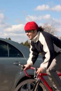 Was sieht der Bußgeldkatalog für die Überschreitung der Geschwindigkeit auf dem Fahrrad vor?
