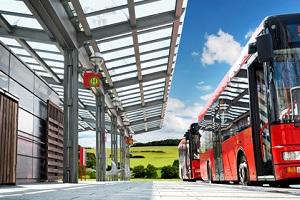 Die Busspur ist laut StVO nur für Linienbusse freigegeben.