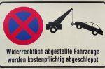 Parken im Parkverbot: Hier können Sie abgeschleppt werden.