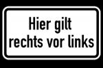 Gilt nur dann rechts vor links, wenn ein Schild hierauf hinweist? Nein, stattdessen ist die Vorfahrtsregel allgemeiner Grundsatz.
