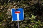 Sackgasse: Dieses Schild kündigt eine solche Straße an.