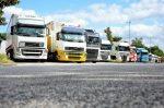 Auch die Mittagspause zählt zur Schichtzeit für LKW-Fahrer.