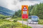 Ein Unfall kann in Großbritannien aufgrund des ungewohnten Linksverkehrs durchaus vorkommen.