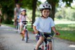 Durch die Verkehrserziehung erlernen Kinder die sichere Teilnahme am Straßenverkehr.
