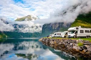 Urlauber können auf Campanda verschiedene Wohnmobil-Typen mieten.