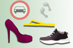 Darf man mit Flip-Flops & Schlappen beim Autofahren hinters Steuer?