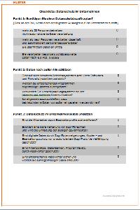 Datenschutz im Unternehmen: Muster downloaden